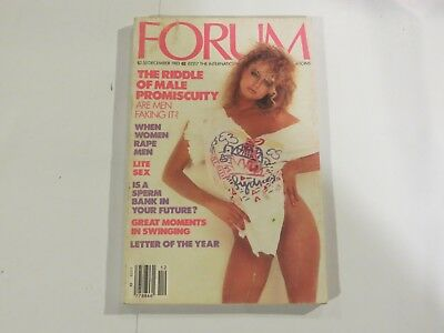 Forum Digest The Riddle Of Male Promiscuity December 1983 AB1