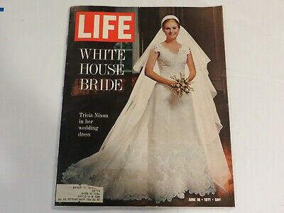 Life Magazine - June 18 1971 White House Bride Tricia Nixon JF1