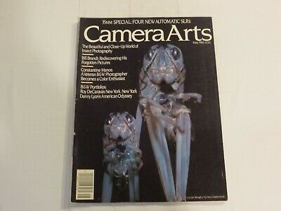 Camera Arts May 1983 SLRs Insect Photography Bill Brand Pictures Film NN1