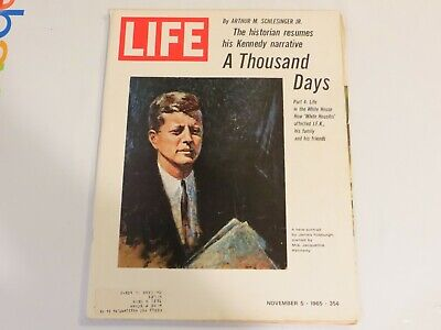 Life Magazine November 5, 1965 A Thousand Days, Portrait of Kennedy JF1