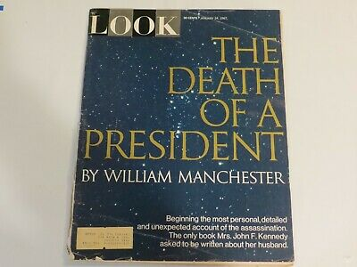 1967 LOOK Magazine – The Death Of A President, January 24- John Kennedy JF1