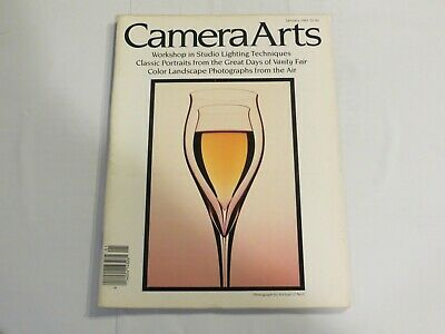 Camera Arts January 1983 Studio Lighting Classic Portraits Vanity Fair NN1