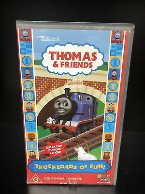 Thomas the Tank Engine & Friends VHS - Truckloads of Fun VHS ABC Australia Video