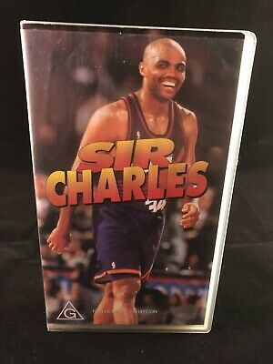 Sir Charles (Barkley) - NBA VHS tape - Vintage 1990's basketball video