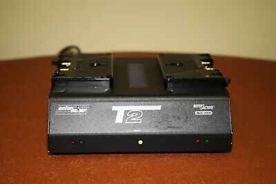 Anton Bauer T2 Simultaneous Two Position Gold Mount Power Charger.