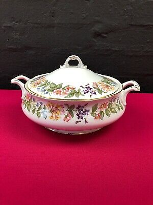 Original Royal Albert Sweet Romace Lidded Vegetable Tureen Excellent Quality Art Pottery