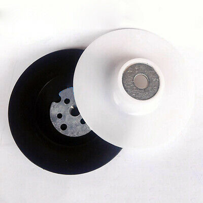 4'' 100mm Rubber Backing Pad M10 Thread for Fibre Sanding Disc Angle Grinder