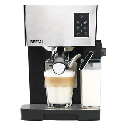 BEEM Germany Espresso & Cappuccino Maker Machine with Automatic Milktank for or
