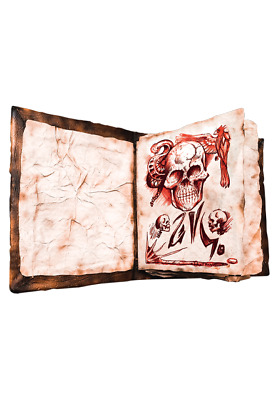 EVIL DEAD 2: BOOK OF THE DEAD NECRONOMICON Prop with Printed Pages ** PREORDER**
