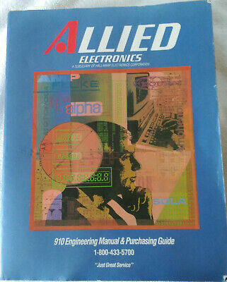 1991 Allied Electronics Engineering Manual, Purchasing Guide & Catalog