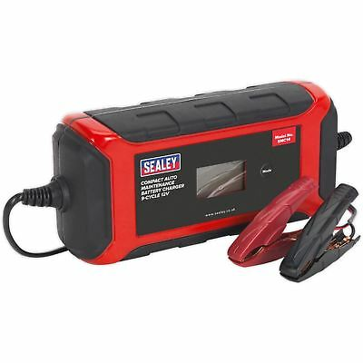 Sealey Compact Auto Maintenance - Chargeur Batterie 9-Cycle 12V