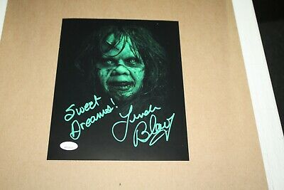 "Linda Blair Signed Autographed 8X10 Photo ""Regan"" The Exorcist Green Image Jsa"