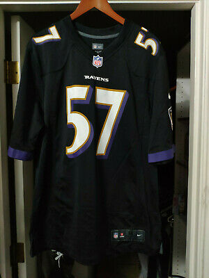 79d8e24cf Mens Nike Medium Alt. On Field Limited Jersey Baltimore Ravens C.J. Mosley  #57