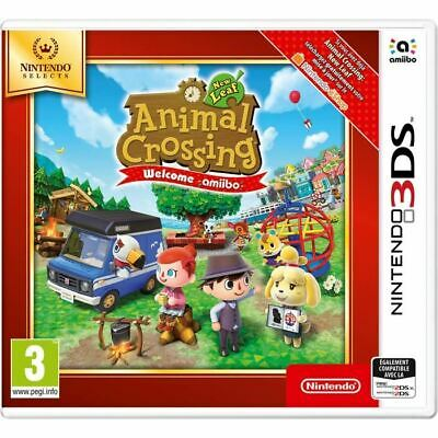 Jeu Animal Crossing : New Leaf 3DS - Nintendo Selects - NEUF SOUS BLISTER