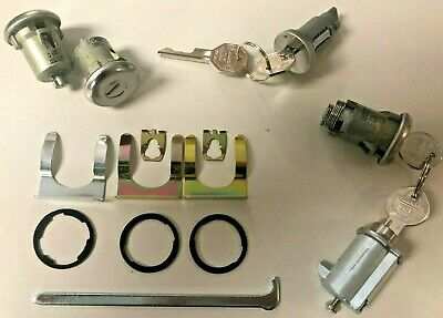 1966-1967 GTO, Tempest & LeMans Complete OE Style Lock Set with Original GM keys