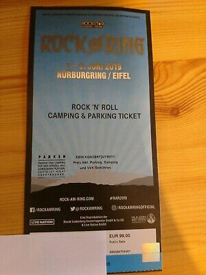Rock am Ring 2019  - Rock 'N' Roll Camping & Parking Ticket