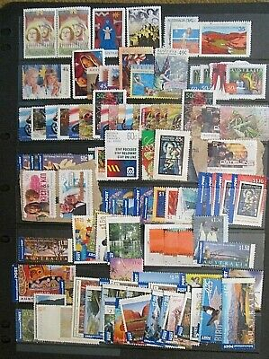 Australian Stamps Unfranked $100.00 + mostly Off Paper