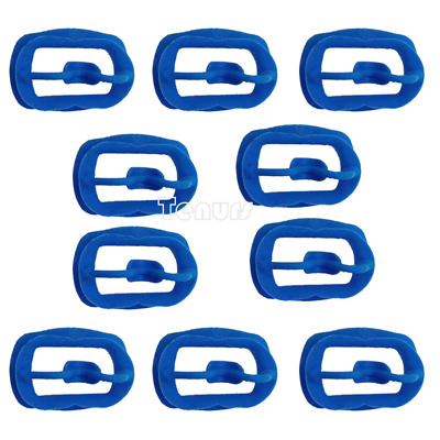 10pcs Newly Orthodontic Dental O Mouth Opener Intraoral Cheek Lip Retractor Blue