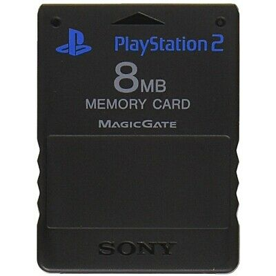 Official Sony PlayStation 2 Memory Card Genuine (PS2) (K68