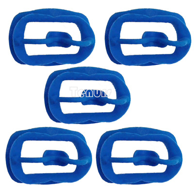 5pcs Newly Orthodontic Dental O Mouth Opener Intraoral Cheek Lip Retractor Blue