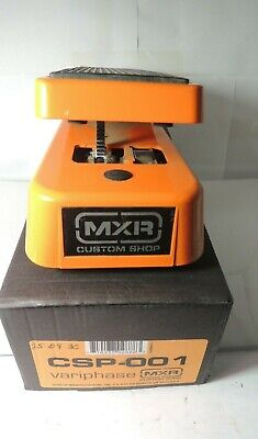 MXR Custom Shop Variphase CSP-001 Phaser Phase Shifter Effect Pedal Free USA S&H