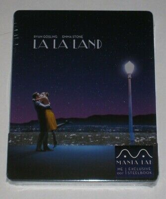 La La Land Quarter Slip 1/4 #007 Manta Lab Exclusive Blu Ray Steelbook Sealed