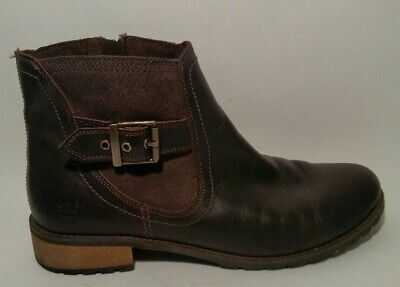 c329725df10 TIMBERLAND EARTHKEEPERS SAVIN Hill Mid Womens Boots 8541R BROWN Sz ...