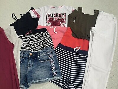 Girls Summer Clothes Bundle. Age 10-11 Years