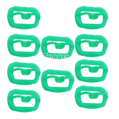 10pc Newly Orthodontic Dental O Mouth Opener Intraoral Cheek Lip Retractor Green