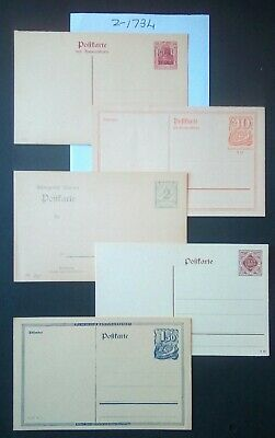 German Weimar Period/Imperial, Lot (5) Postcards Original,