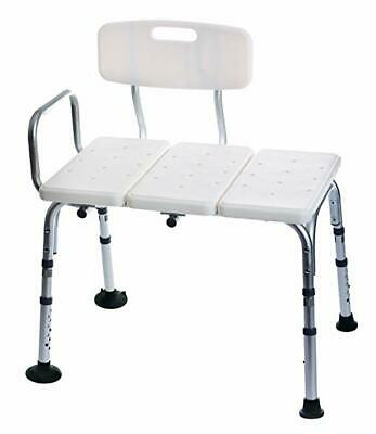 Medline Transfer Bench with Back