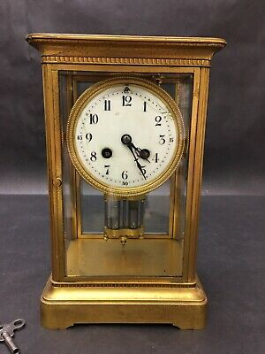 Antique French Mantle Clock By Couaillet Freres