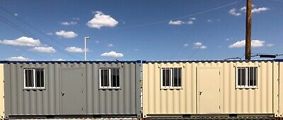 20' JobBox Shipping Container Mobile Office ( Grey or Beige )