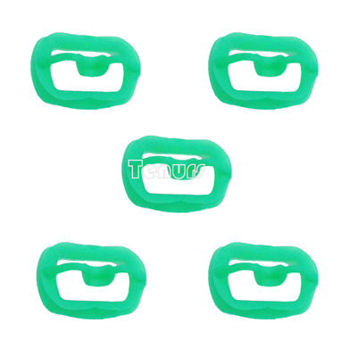 5pcs Newly Orthodontic Dental O Mouth Opener Intraoral Cheek Lip Retractor Green