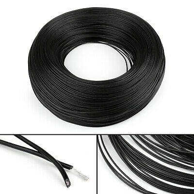 10M Black Flexible Stranded UL1007 22AWG Electronic Wire PVC Cable 300V ROHs CA
