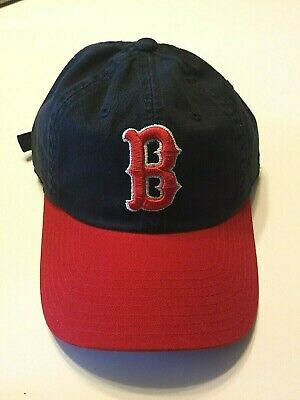aeaa99857 American Needle Inc. Cooperstown Collection Boston Red Sox Strap Back Hat