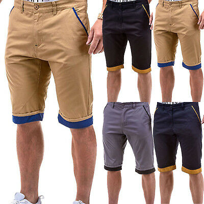 ee8d7420dc Mens Cotton Chino Cargo Shorts Summer Casual Stretch Sports Combat Half  Pants US