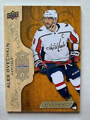 18-19 UPPER DECK ENGRAINED Alex Ovechkin BASE /299
