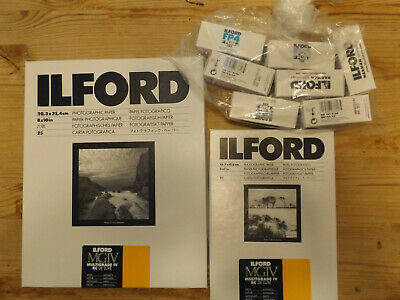 Ilford Multigrade IV RC DeLuxe Photographic Paper and Film Bundle
