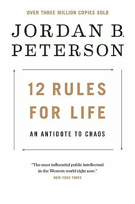 12 Rules for Life: An Antidote to Chaos (Hardcover) Best Seller FREE SHIPPING