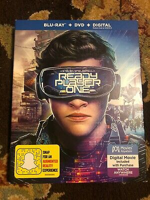 Ready Player One (Blu-ray and DVD ONLY, 2018)