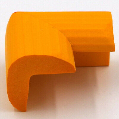 4Pcs Table Corner Guard Cover Safe Protector Anti Crash Cushion Orange