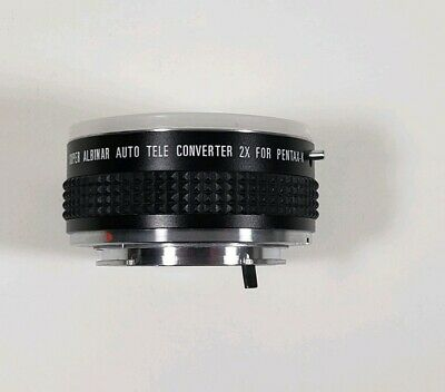 Super Albinar Auto Tele Converter 2X for Pentax-K K Mount  1 End Cap Japan