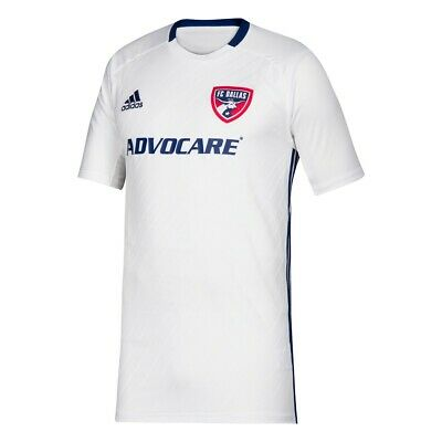 2df2f2975 FC Dallas MLS Adidas Youth White Official Climalite Team Replica Jersey