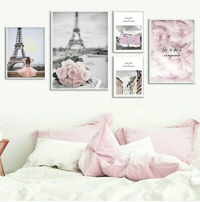 Living Room Posters Wall Art Print Pictures Home Decorative Lovely Design Paints
