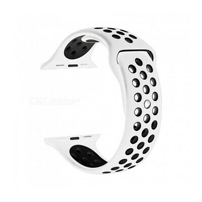 NewBee Sports Silicone Bracelet Strap Band For Apple Watch iWatch 42mm White/ AU
