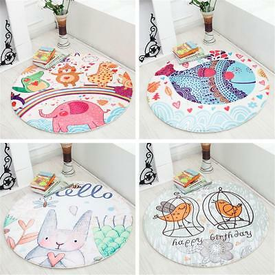 Children Kids Game Play Mat Baby Crawling Rug Carpet Cotton Blanket Playmat