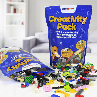 850 Pcs* - Lego Masters 1Kg Building Packs - Take On The Challenge! + Free Tool