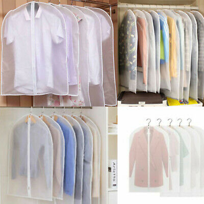 Vacuum Bags Clothes Garment Suit Dust Cover Protector Wardrobe Storage Bag