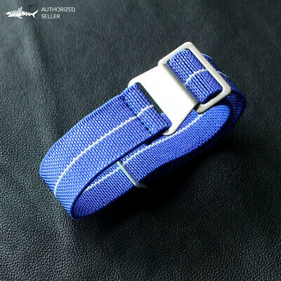 French Army Elastic Nylon Nato Dive Wristwatch strap 20 mm mixed color steel